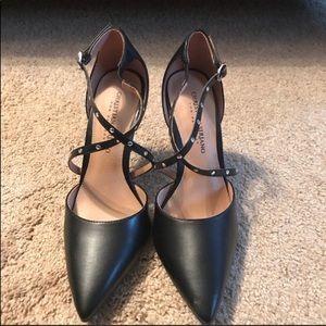 Christian Siriano Klassy Pin Stud Heel Black 9.5